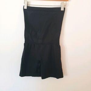Blanqi maternity support biker shorts compression